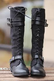 lace up motorcycle riding boots running into town tall lace up boots black nanamacs boutique