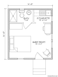 14 u0027x22 u0027 narrow one bedroom one bath cottage 308 sf by historic