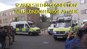 borough market stabbing london bridge terror attack recap police arrest 12 after raids in