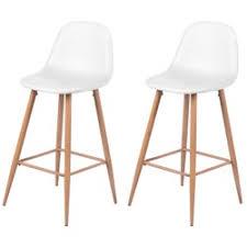 chaise cuir blanc chaise cuir blanc la redoute