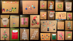 Homemade Christmas Card Ideas by Diy Christmas Cards The Work At Home Mommy