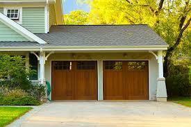 door garage two car wooden garage corona garage doors modern