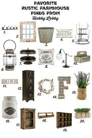 My Favorite Rustic Farmhouse Finds At Hobby Lobby Farmhouse