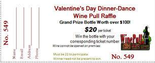 valentine raffle tickets prize ticket templates raffle ticket software