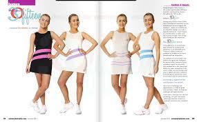 tennis wear london flair pr