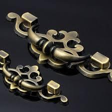 compare prices on antique brass cabinet knobs online shopping buy 96mm antique brass zinc alloy drawer pull cabinet knob kitchen handle door drawer dresser knobs handles