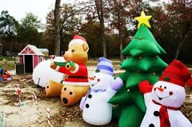 Blow Up Christmas Decorations On Roof by Yard Decorations Inflatable Christmas Decorations