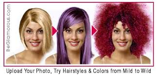 hair color simulator purple hairstyles upload your photo try virtual hairstyles for