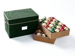 christmas ornament storage box 36 72pc adjustable ornament storage box 18w x 12d x 12h green