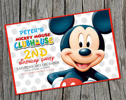 mickey mouse birthday invitations free printable ajordanscart com
