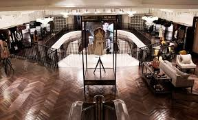 the digitally enhanced new burberry flagship store london