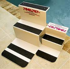 pool steps for dogs good to have a couple of options for them in