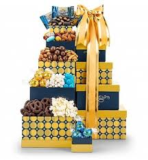 Snack Gift Baskets Snack Gift Tower