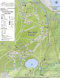 Tallahassee Florida Map by Tom Brown Park Old Layout In Tallahassee Fl Disc Golf Course