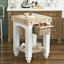 color story black butcher block kitchen island by powell company