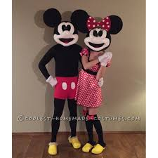 Mickey Mouse Halloween Costumes Vintage Mickey Minnie Mouse Costume Minnie Mouse Costume