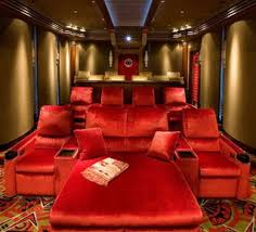 home theater design ideas pictures extravagant home theater design with ceiling lights like sky view