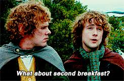 Second Breakfast Meme - second breakfast gif on imgur