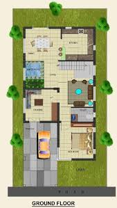 House Design 15 30 Feet 12 House Plan For 30 Feet By 50 Plot Size 167 Square Yards Plans