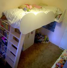 Beds With Bookshelves by Loft Beds With Bookshelf Ladders 14 Steps With Pictures