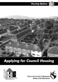 applying for council housing by city and county of swansea issuu