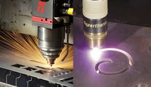 Laser Cutting Table One Laser Head One Plasma Torch One Cutting Table Canadian