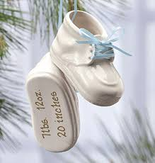 baby bootie ornament baby shoe ornaments for christmas trees it s christmas time
