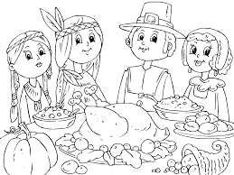 preschool thanksgiving coloring pages 12477