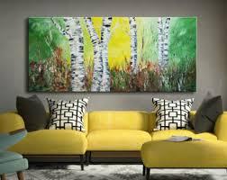 aspen tree painting etsy