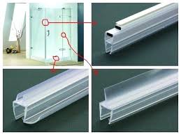 Sealing Glass Shower Doors Glass Shower Door Seal Repair Frameless Dkkirova Org