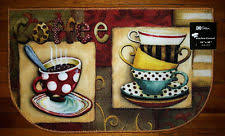 cosy cafe kitchen rugs lovely coffee rug ebay collection