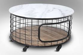 Patio Side Tables Metal Coffee Table Concrete Coffee Table Outdoor Patio Side Tables