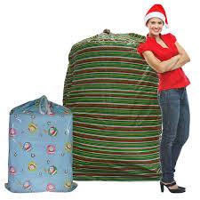 large christmas gift bags set of 2 christmas gift bags for large presents