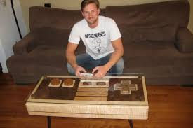 Custom Coffee Table by Custom Table Doubles As Controller A Lot More Than Just Promos