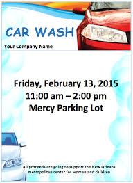 free flyer design 7 free car wash brochure flyer templates bates on design