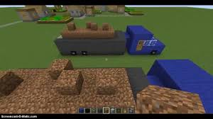 minecraft dump truck minecraft how to make a dump truck youtube