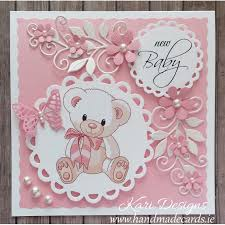 baby card handmade new baby boy card
