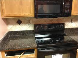 Cherry Kitchen Cabinets With Granite Countertops Granite Countertop Jaiba Kitchen Cabinets Frigidaire Gallery
