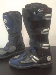 sidi motocross boots sidi flexforce blue motorcross mx boots sz uk9 9 5 waterproof in
