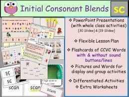 phonics initial consonant blends ccvc words bundle 2 by