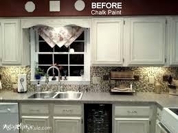 chalk painting kitchen cabinets home interior ekterior ideas