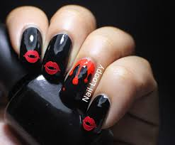 halloween blood nail designs sbbb info