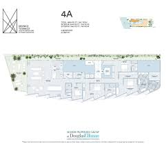 Floor Plans With Porte Cochere Monad Terrace Floor Plans Luxury Waterfront Condos In South Beach