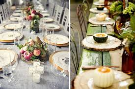 rustic thanksgiving tablescapes