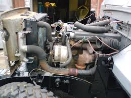 land rover series 3 engine intercooler for my 200 tdi conversion