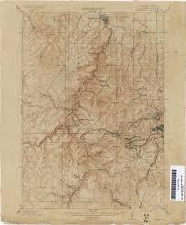 South Dakota County Map South Dakota Historical Topographic Maps Perry Castañeda Map