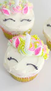 rainbow unicorn cupcakes recipe tastemade