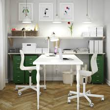 first home office how to create a his and hers workspace