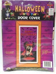 halloween door covers tas031710 1996 looney tunes halloween door cover taz u2013 the