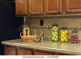 kitchen countertop decor ideas fruit decorations for kitchen home design ideas and pictures